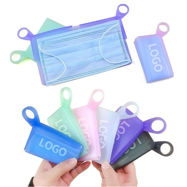 PPE Silicone Portable Mask Keeper Folder Face Mask clip