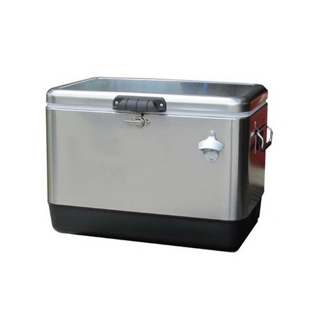 54 QT Metal Retro Cooler