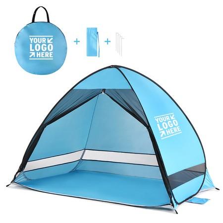 Anti UV Pop Up Beach Tent