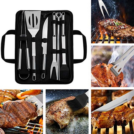 BBQ Grill Tool Set 9 Pieces
