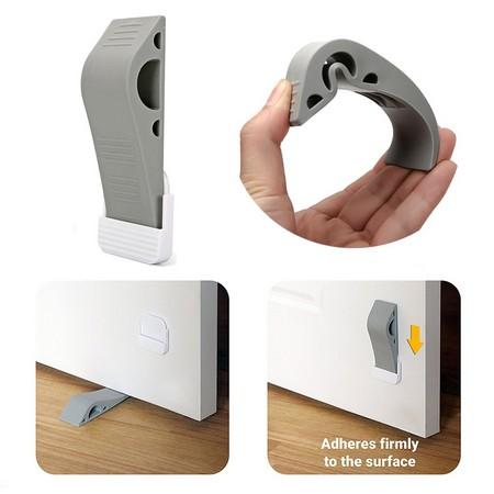 Decorative Door Stopper With Free Bonus Holder