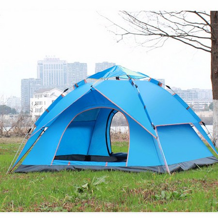 Double Layer Automatic Camping Tent