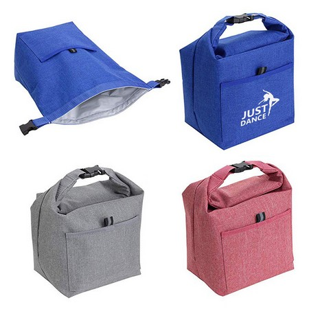 Large Durable Roll-top Lunch Tote