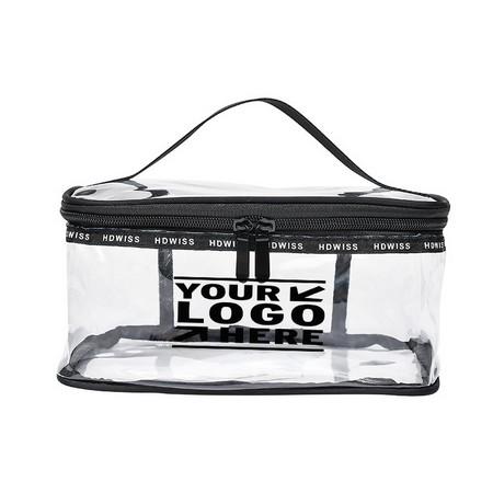 Portable Clear Makeup Bag