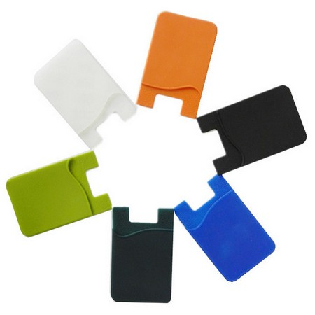 Silicone Phone Wallet Card Holder