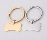 Dog Tags Key Chain