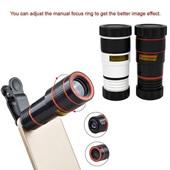 12X Zoom Optical Phone Camera Telescope Lens