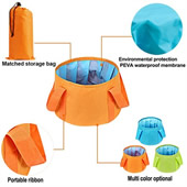 15L Outdoor Folding Bucket
