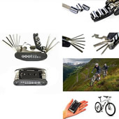 16 in 1 Multi-Function Bicycle Mechanic Repair Tool
