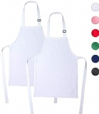 Reusable Kids Aprons Adjustable Youth Bib Apron