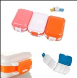 8 Compartments Portable Folding Pill Box