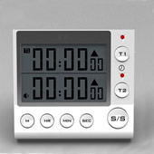 2 Group General Digital Kitchen Countdown Timer