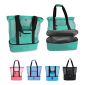 2 in 1 Beach Bag with Cooler