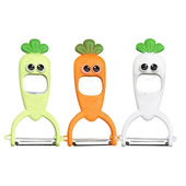 2 in 1 Carrot Shape Peeler