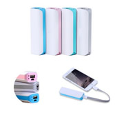 2200 mAh Mini Portable Charger Power Bank