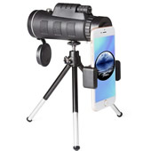 40X60 High Power Telescope with Compass
