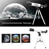 90X Portable Astronomical Refractor Tabletop Telescope