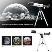 90X Portable Astronomical Refractor Tabletop Telescope