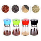 Adjustable Coarseness Pepper/Salt Grinder