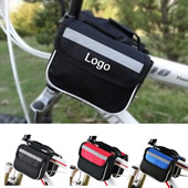 Bicycle Front Tube Frame Double Sides Bags