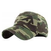 Camouflage 6 Panel Baseball Cap