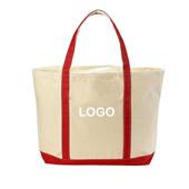 Canvas Carry-All Tote Handbag