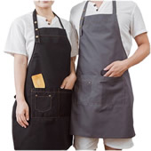Canvas Shop Apron with Pockets