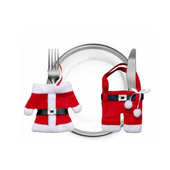 Christmas Cutlery Bag
