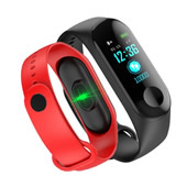Color Screen Blood Pressure Heart Rate Blood Oxygen Sport Wristband