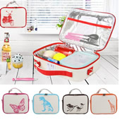 Cotton Insulated Lunch Cooler Bag