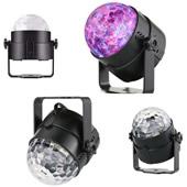 Crystal Ball Laser Light