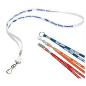 Custom Silk Screen Lanyard
