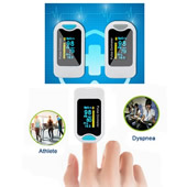 Deluxe Fingertip Pulse Oximeter with Perfusion Index