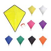 Diamond-Shaped Advertising Kites