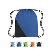 Drawstring Bag With Pocket