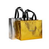 Eco-friendly Metalic Laminated Tote Bag