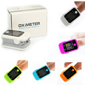 Fingertip Pulse Oximeter/Blood Oxygen Saturation Monitor