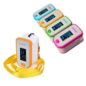 Fingertip Pulse Oximeter /SpO2 Monitor with Perfusion Index