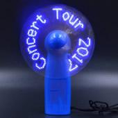 Flashing Logo LED Handhold Fan