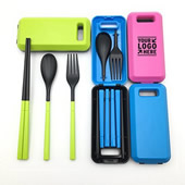 Foldable Portable Cutlery Picnic Tableware Set