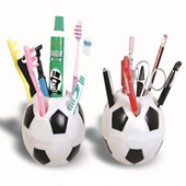 Football Shaped Pen Holder/Toothbrush Holder