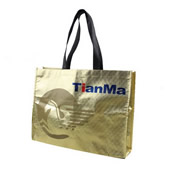Gold Laminated Non-woven Tote bag
