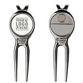 Golf Bent Fork Divot Tool Repair Tool