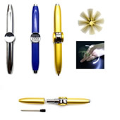Hand Spinner Pen With LED