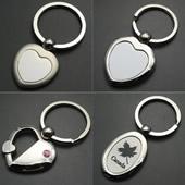 Heart Shaped Alloy Key Chain