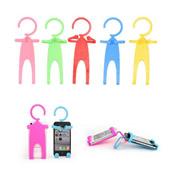 Human Shape Flexible Cell Phone Holder