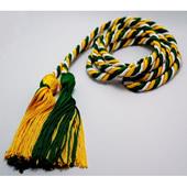 Intertwined Color Graduation Cord