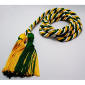Intertwined Color Graduation Cord