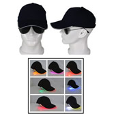 Light in the Dark LED Hat LED Peak Cap