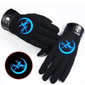 Luminous Touchscreen Gloves